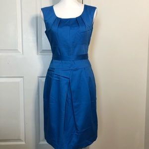 Calvin Klein Women's Dress - Size 6 Petite - Blue